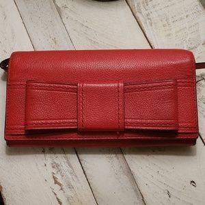 Cherry Red Kate Spade Wristlet Wallet